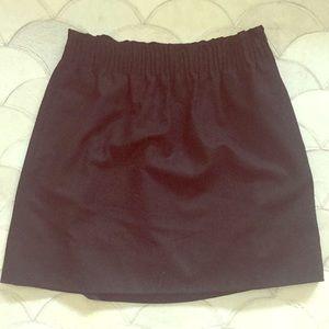 J. Crew Wool Sidewalk Skirt with Pockets
